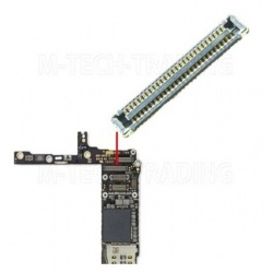 Conector en Placa Base, FPC Conector de Pantalla Tactil para iPhone 6 Plus, iPhone 6G Plus 5.5