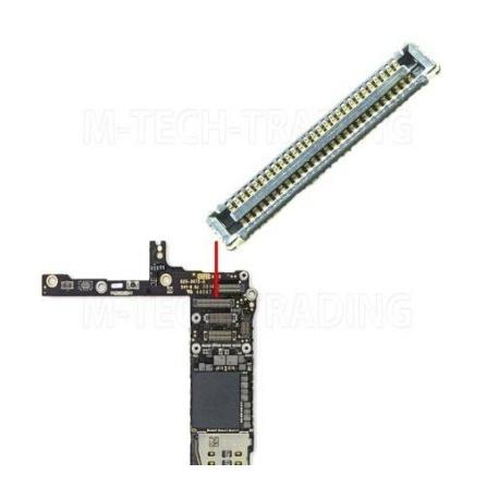 Conector en Placa Base, FPC Conector de Pantalla Tactil para iPhone 6 Plus, iPhone 6G Plus 5.5