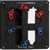 iPhone 7G 7G Plus iPad Abrazaderas de Alta Temperatura Soporte Fix Reparación del Molde Herramienta