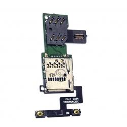 N1 Flex de Boton Volumen y Lector Sim Lector MicroSD para Xiaomi Mi1S, Mi 1S