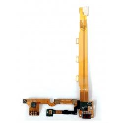 N3 Flex Con Conector De Carga Y Microfono Para Xiaomi Mi3 Version LianTong