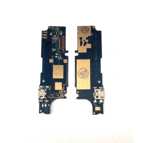N4 Placa Auxiliar con Conector Carga para Wiko Fever
