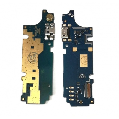 N9 Placa Auxiliar con Conector Carga para Wiko 3901