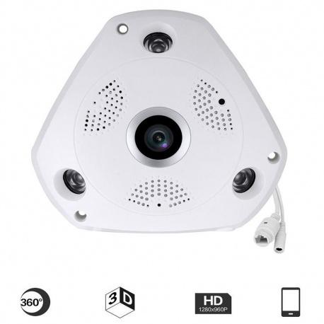 VR CAM 3D Camara Panoramica 3.0MP Max 128GB - SIN STOCK