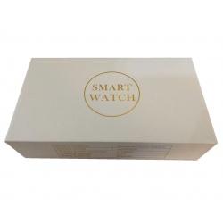 K2 Caja Blanca Figura Oro Pulsera, Reloj Inteligente para Deportes Fitness
