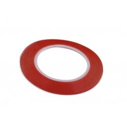 N70.1 Adesivo Cinta Doble Caras Transparente 8mm 0.8cm