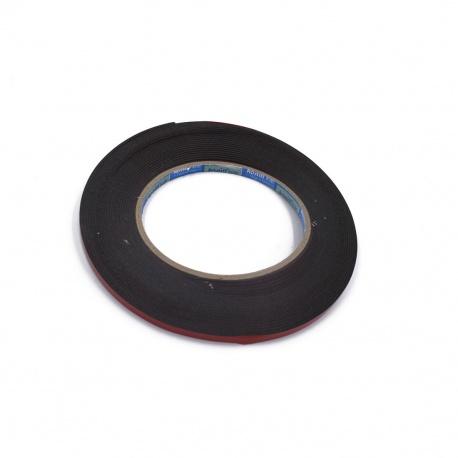 N71 Pegamento Esponja Cinta Doble Caras 3mm 0.3cm Negra