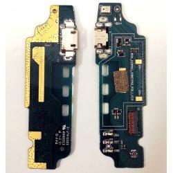 Placa con Conector de Carga y Microfono para Zte Blade L5 Plus