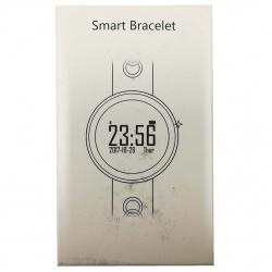 Q7 Caja Grande Blanca Simple Redondo Reloj Inteligente