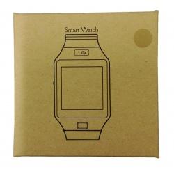 DZ09 Caja Amarrilla Simpre Cuadrada Smart Watch puede meter Tarjeta SIM