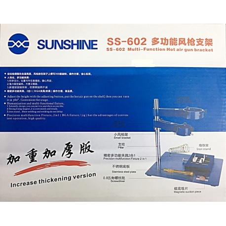 Multi Soporte Para Pistolas De Aire Caliente y Soldadura SUNSHINE SS-602 SS602