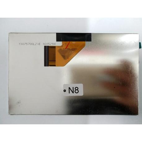 N8 Pantalla Completa para Tablet Generico de 7 Pulgadas 50PIN YX070BH 50W-A2 RXD YX07570L21E 160529A