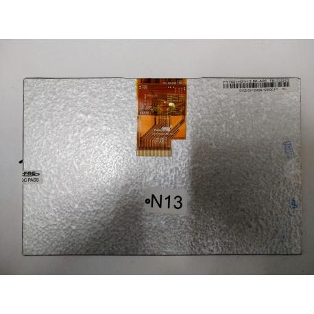 N13 Pantalla Completa para Tablet Generico de 7 Pulgadas 40PIN HannStar 721H460148-A2 FY021H01H-2.8K-A05 FB-D102-03