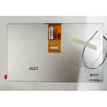 N23 Pantalla Completa para Tablet Generico de 10 Pulgadas 60PIN 73002001242C E203460 10GG222016521EE