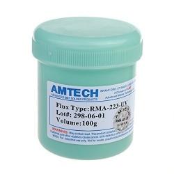 Pasta / Flux de Soldadura AMTECH RMA-223-UV 100G