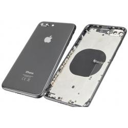 Chasis de Pantalla / Marco Medio / Carcasa Central con Tapa Trasera de Cristal para iPhone 8G Plus / iPhone 8 Plus