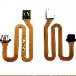 Flex Puente de Conectar home Lector de Huella y Placa para Huawei P20 Lite