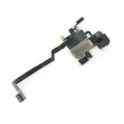 flex de sensor de proximidad / iluminador IR infrarrojo / sensor de luz ambiental / altavoz auricular / microfono para iPhone X