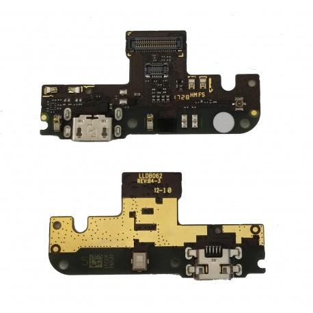N37 Placa Auxiliar con Conector de Carga y Microfono para Redmi Note 5A / Redmi Y1 Lite