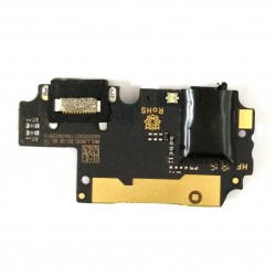 Placa Auxiliar con Conector Carga TipoC jack audio y microfono para BQ Aquaris X2 Pro