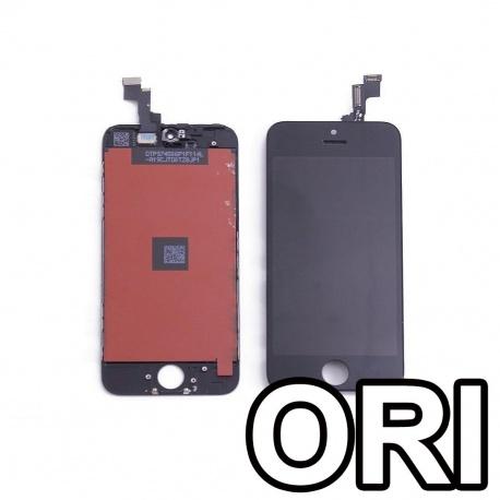 iPhone 5C negro y blanco completa