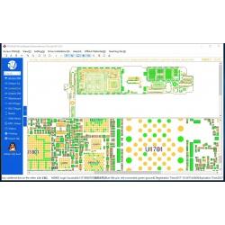 WU XIN JI DONGLE diagrama esquemático del tablero reparación para iPhone iPad samsung software de reparación de dibujos