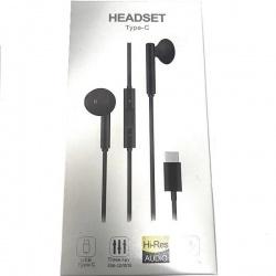 Cargador Cable Typo-C Con Microfono Para Huawei / Xiaomi / HeadSet CM33