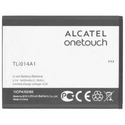 N337 Batería TLi014A2 / TLi014A1 de 1400mAh Para Alcatel One Touch 639 / 3.7V / 5.2WH