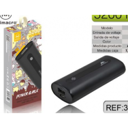Bateria Externa / Power Bank N25 De 5200mAh MIMACRO