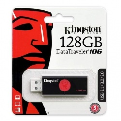 Pendrive Kingston Datatraveler 106 128GB USB3.0 / USB2.0 Blister Usb Normal