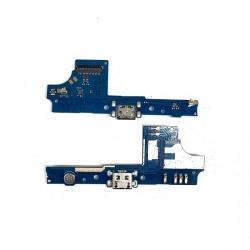Placa Auxiliar Con Conector Carga Para Wiko U Pulse
