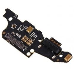 Flex De Conector De Carga Con Microfono Y Jack De Audio Para Huawei Mate 20