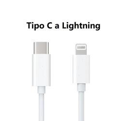 Cable Cargador De Cable Tipo C A Lightning / Modelo: MA019