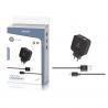Cargador con Cable Micro USB De 1 Metro 2.1A / Dos USB / TZ-1201M / MAXAM