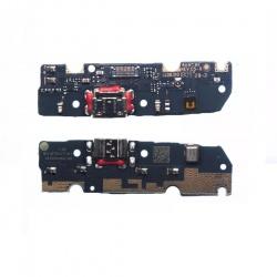 Flex Placa Con Conector De Carga Micro USB Y Microfono Para LG G6 Play