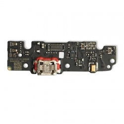 Placa De Conector De Carga Micro USB Con Micrófono para Moto G6 Play
