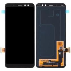 pantalla samsung completa a8 2018 a530f color negro oro azul gris compatible todos