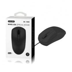 Raton de Ordenador con Cable USB 1.5metros SB-1000 / MAXAM