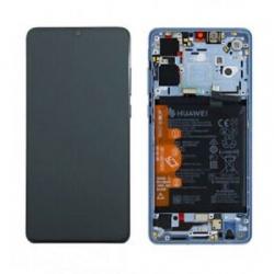 Pantalla Completa Original Con Marco y Bateria Para Huawei P30 / P 30