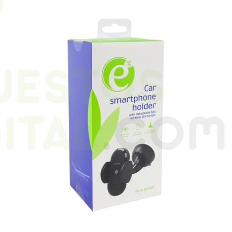 Cargador inalambrico con Soporte de Coche 5W / energenie / Qi charger