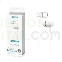 Cascos / Auriculares con Microfono 1.2M / EJ0207M / MAXAM