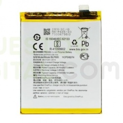 N389 Bateria BLP685 para One Plus 6t / 1+6t de 3610mAh
