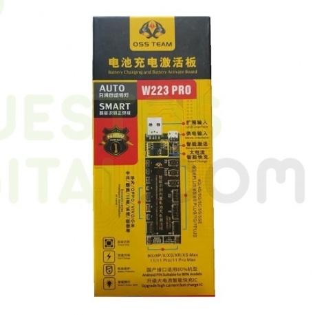 Reactivador De Bateria OSS TEAM W223 PRO Para iPhone (4G-11 PRO MAX) Huawei Meizu Xiaomi OPPO Vivo Samsung
