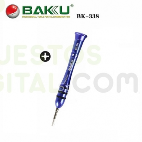Destornillador 2.5X25mm de Alta Calidad / BAKU 338 Color Azul