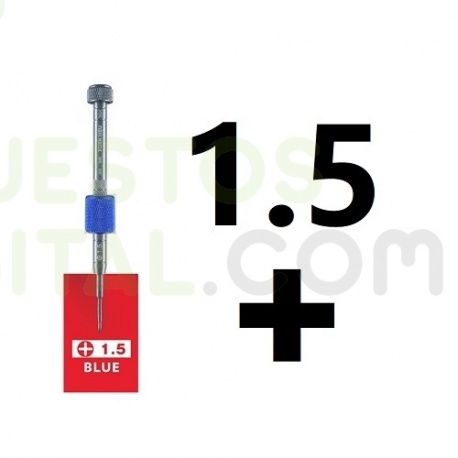 Destornillador de Gran Calidad Xuan Hou 36K / Punta CRUZ ✚1.5