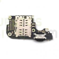 N74 Placa de Carga Con Lector de Sim Para Xiaomi Mi 10 Lite