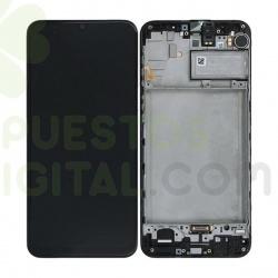 Pantalla Completa Original Con Marco Para Samsung Galaxy M21 / M215