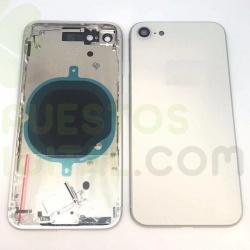Chasis De Pantalla / Marco Medio / Carcasa Central Con Tapa Trasera / Antena NFC Y FleX Power Volumen Para IPhone 8G / iPh 8G