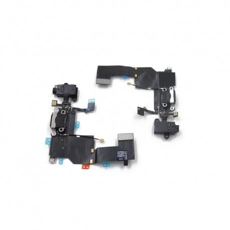Flex de Carga lightning con Microfono para iPhone 5C