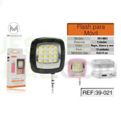 Accesorio Flash Luz LED Para Movil / XPJ0021 / MIMACRO